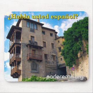 ¿Habla usted español Old Town Spain Mousepads
