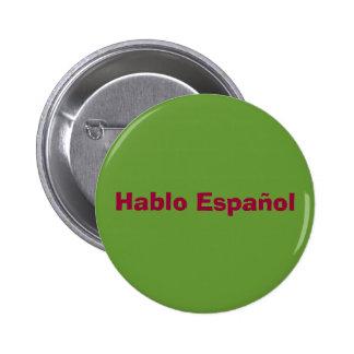 Hablo Espanol Button