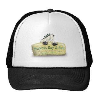 Hacienda Hay Feed Straw Bale Mesh Hats