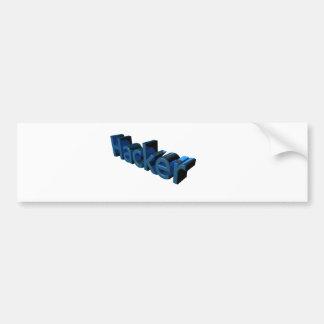 Hacker Bumper Sticker