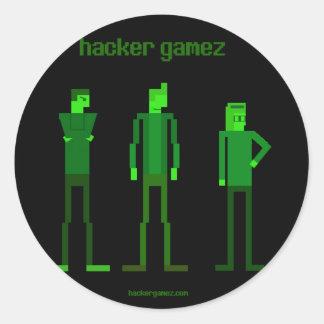 Hacker Gamez Logo Sticker