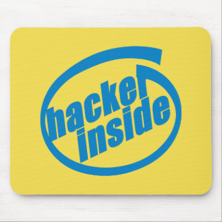 Hacker Inside Mouse Pad