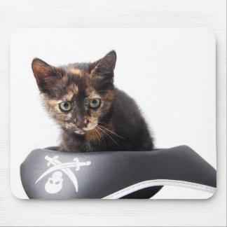 Hacker Kitten Mouse Pad