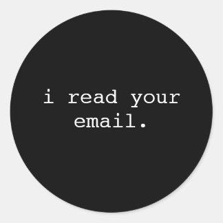Hacker Laptop Sticker - Email