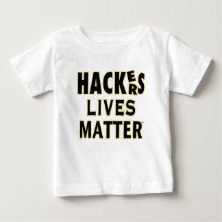 HACKerS LIVES MATTER (YaWNMoWeR) Baby T-Shirt