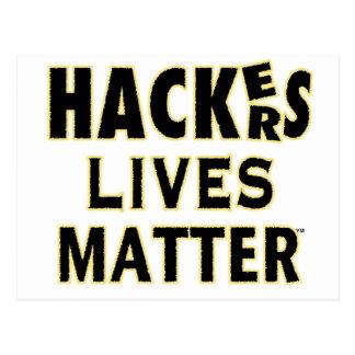 HACKerS LIVES MATTER (YaWNMoWeR) Postcard
