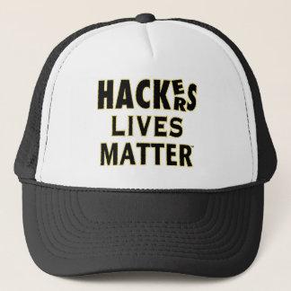 HACKerS LIVES MATTER (YaWNMoWeR) Trucker Hat
