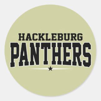 Hackleburg High School; Panthers Sticker