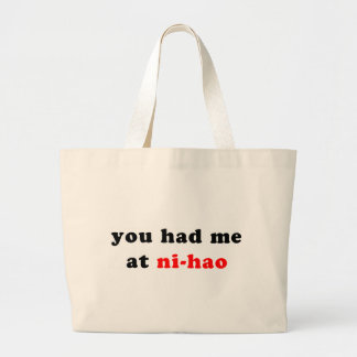 had me at ni-hao bag