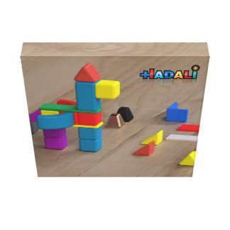 Hadali Toys - Pegasus on Canvas