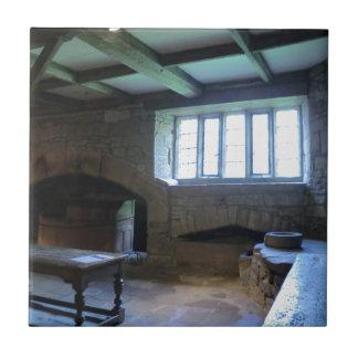 Haddon Hall Medieval Kitchen Tiles
