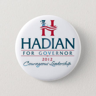 Hadian for Governor 6 Cm Round Badge