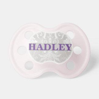 """Hadley"" Personalized Vintage Damask Dummy"