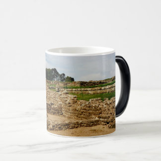 Hadrian's Wall, Northumberland, England Magic Mug