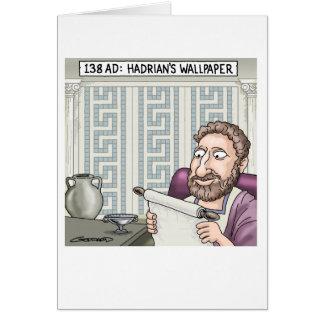 Hadrian's Wallpaper Card