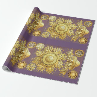 haeckel discomedusae wrapping paper