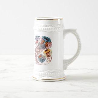 Haeckel Jellyfish Beer Steins