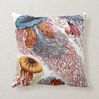 Haeckel ~ Jellyfish Cushions