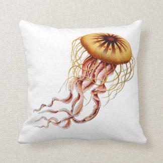 Haeckel Jellyfish pillow