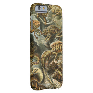 Haeckel Lizards Vintage Print Barely There iPhone 6 Case