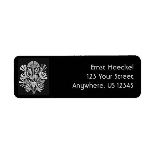 Haeckel Return Address Label