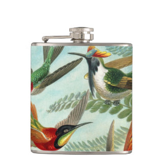Haeckel Trochilidae Hip Flask