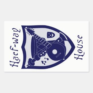 Haef-way House Sticker