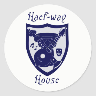 Haefway House sticker
