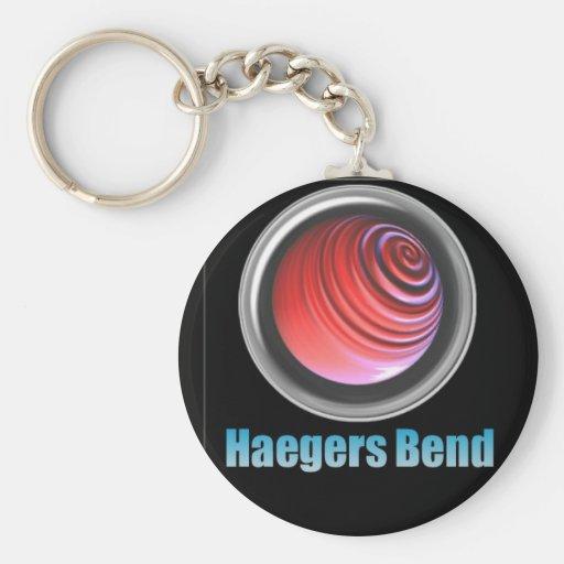 Haegers Bend Keychain