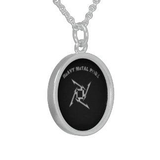 Haevymetal Sterling Silver Necklace