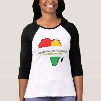 HAF Ladies Sleeve Raglan Tshirt
