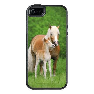 Haflinger Horses Cute Foal Kiss Mum  Phone-protect OtterBox iPhone 5/5s/SE Case