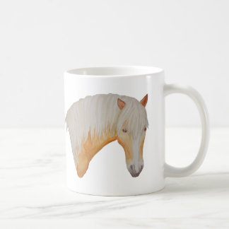 Haflinger Watercolor Mug. Coffee Mug