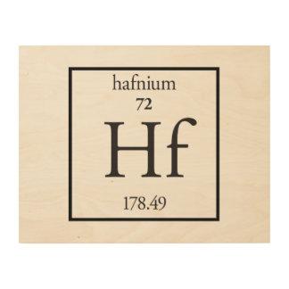 Hafnium Wood Canvas
