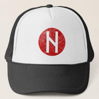 Hagalaz Rune Trucker Hat