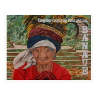 Hagdan-hagdang Palayan ng Banaue Postcard