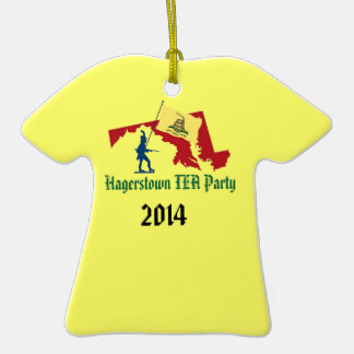 Hagerstown TEA Party Ornament