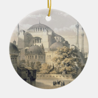 Haghia Sophia, plate 19: exterior view of the mosq Ceramic Ornament