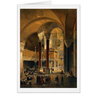 Haghia Sophia, plate 8: the Imperial Gallery and b Card