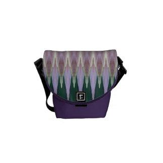Hagi Stripe Mini Messenger Bag
