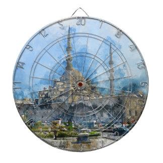 Hagia Sophia in Istanbul Turkey Dartboard