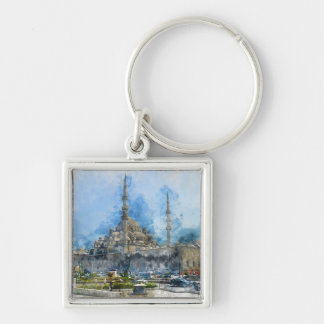 Hagia Sophia in Istanbul Turkey Key Ring