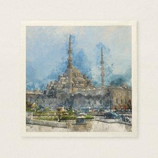 Hagia Sophia in Istanbul Turkey Paper Napkins