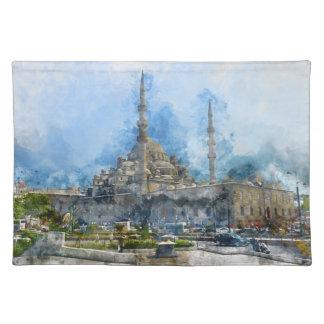 Hagia Sophia in Istanbul Turkey Placemat