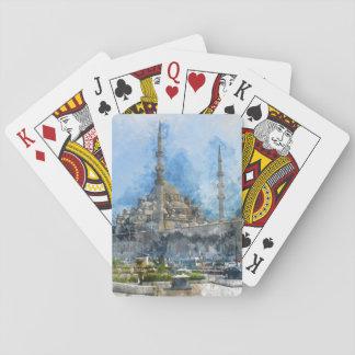 Hagia Sophia in Istanbul Turkey Playing Cards