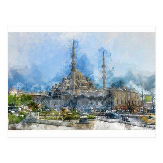 Hagia Sophia in Istanbul Turkey Postcard