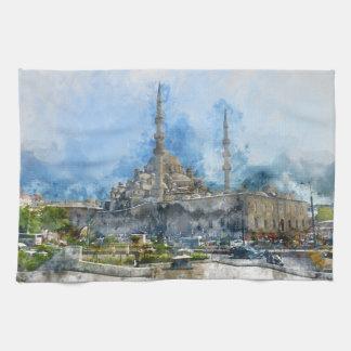 Hagia Sophia in Istanbul Turkey Tea Towel