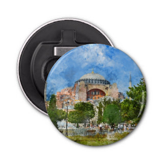 Hagia Sophia in Sultanahmet, Istanbul Bottle Opener