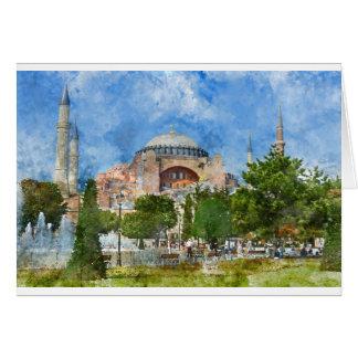 Hagia Sophia in Sultanahmet, Istanbul Card