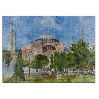 Hagia Sophia in Sultanahmet, Istanbul Cutting Board
